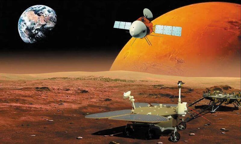 Robots-satellite