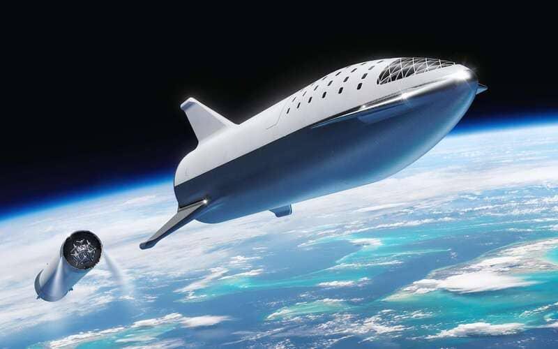 Satellite Space X