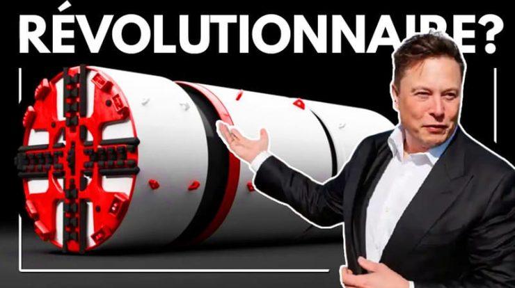Les cinq inventions futuristes d'Elon Musk