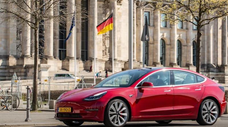 Tesla en Allemagne